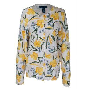 Beautiful floral cardigan size XL